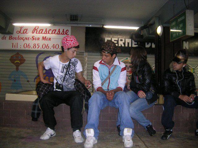 Bader, Simo, Fanny & Ptit frère (L)