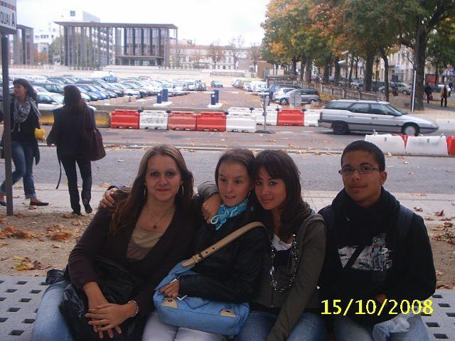 Angélique,Justine,Névalia et Tommy
