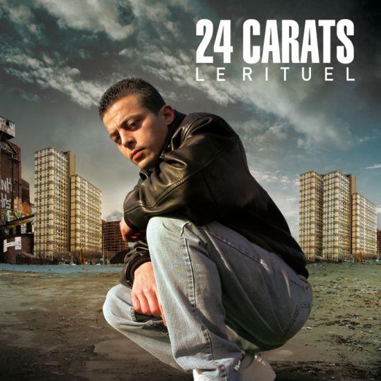 """24carats """"le rituel""""dans les bacs"""
