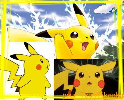 Montage Team Pikachu