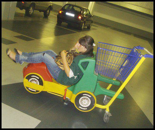 Wam En Mode Parking Du Super U Mdr