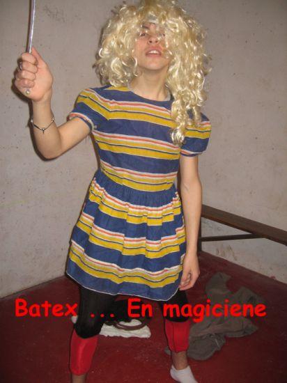 Batex en magicien ... Harry Potter prend garde a toi !