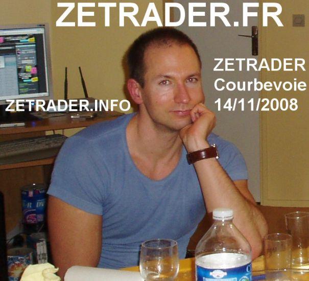 zetrader courbevoie 14 novembre 2008