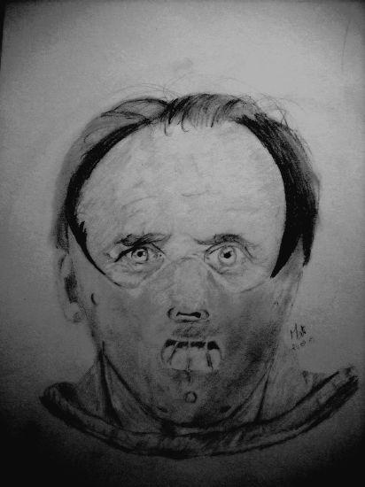 Hannibal Lecter par moi :)