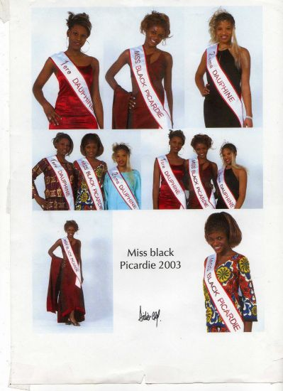 MIss Black Picardie 2003