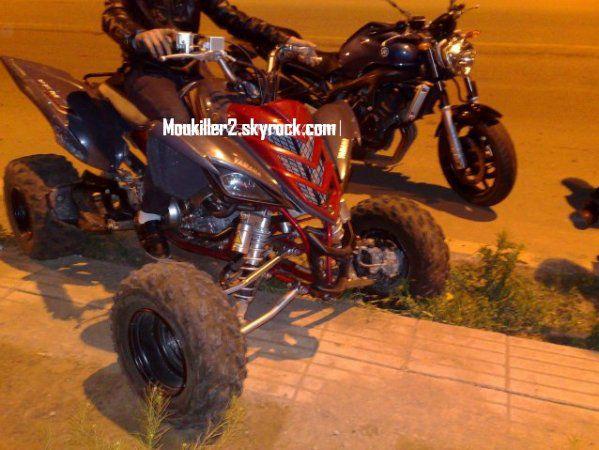 Raptor 700 2008 & Fz 6