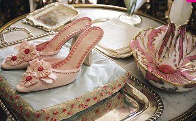 Marie-Antoinette's shoes