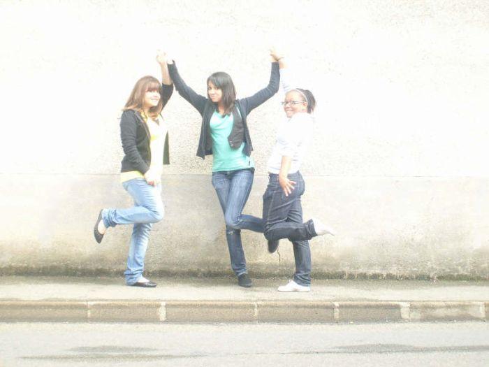 Vanessa, moi & Audrey :P