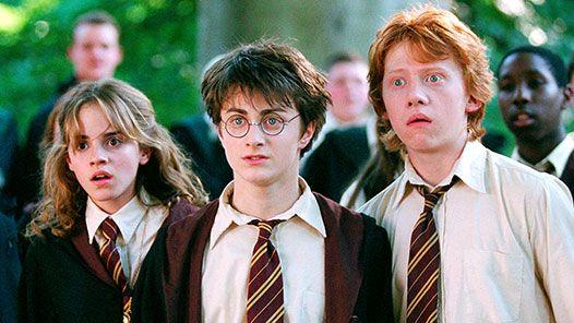 Le Trio : Hermione , Harry, Ron