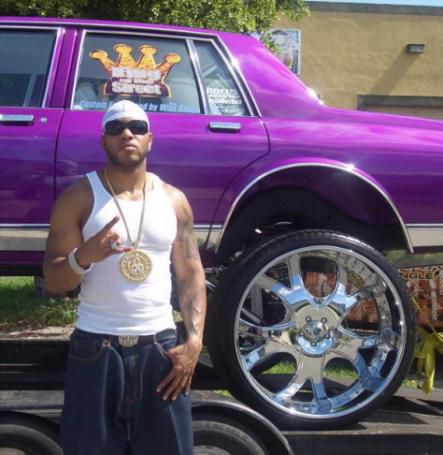 Flo rida and car