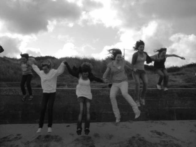 Mwa,Johana,Romana,Mélissa,Mary et Camille