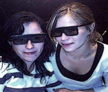 Grande soeur & moi a Walibi , AH LES TETE ^^ mdr