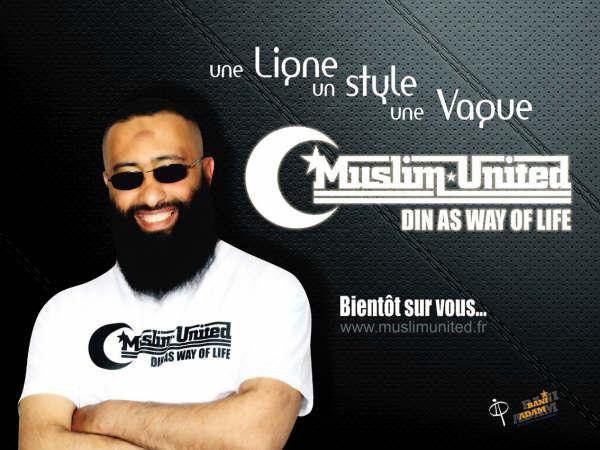 ABDELMADJID le créateur de la marque MUSLIM UNITED