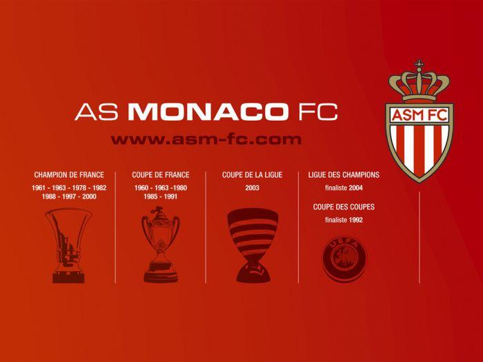 AS Monaco FC  le palmarése