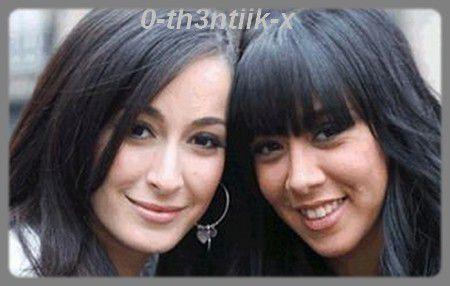 Avec Mélissa