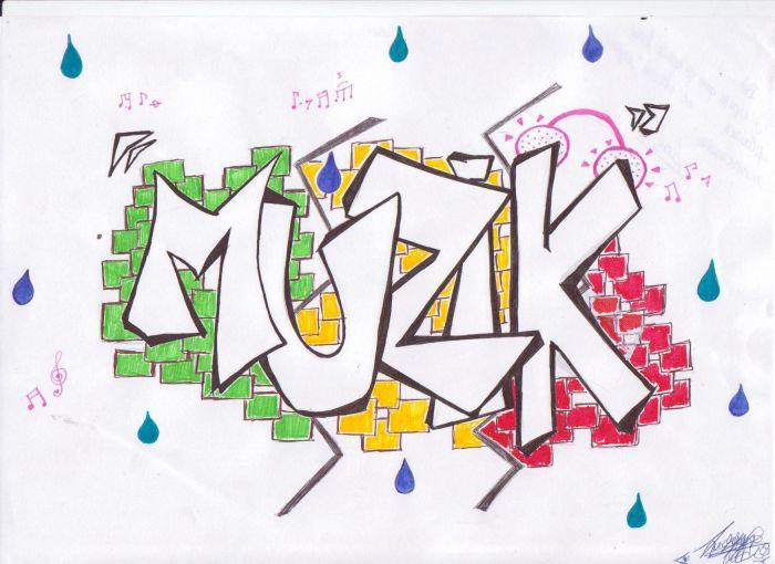 "Mes dessins préférés: ""   Muzik """