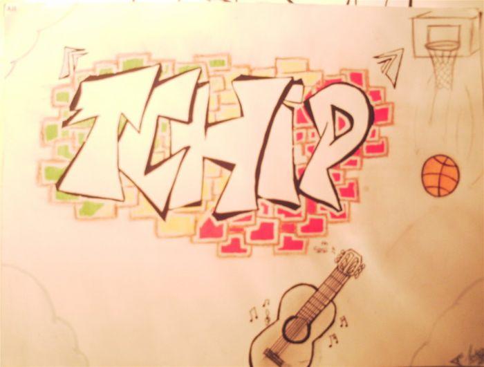 """Mes dessins préférés: """"  TCHIP """""""