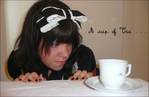 a cup of tee
