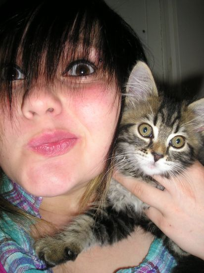 Elya &Me (L) Cat of My Heart