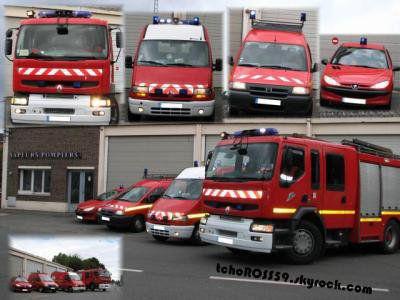 Caserne + vehicules de Wasquehal