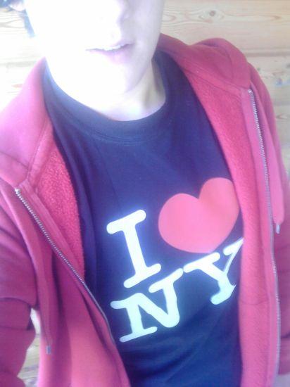 moi en mode I LOVE NY