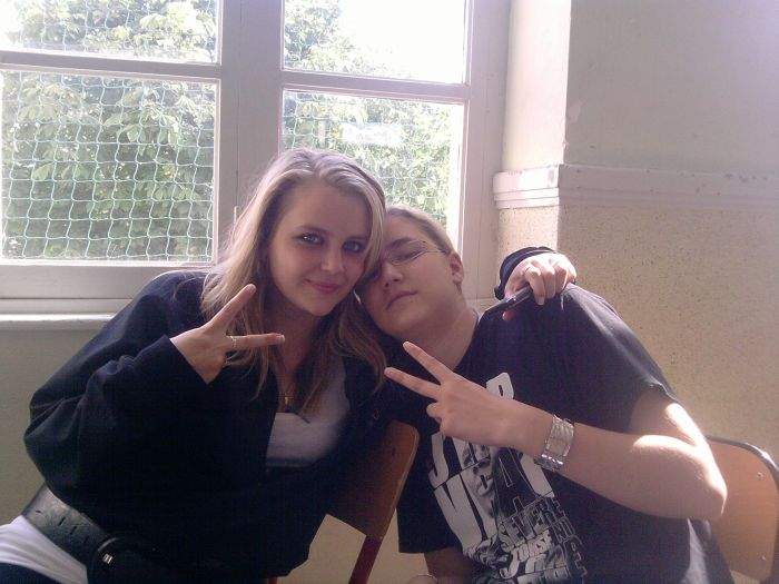 Adeline et Elodie