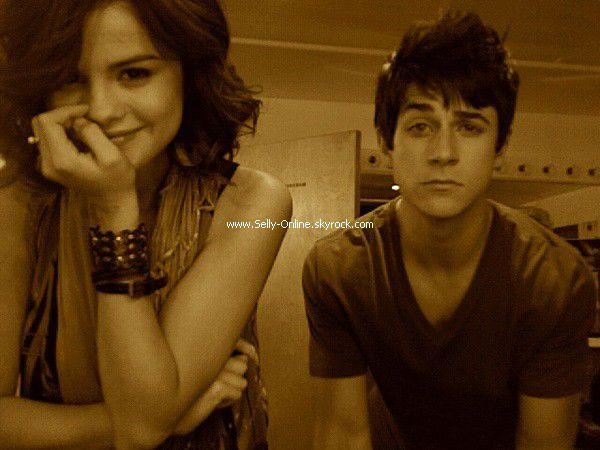 Selena & David Henrie