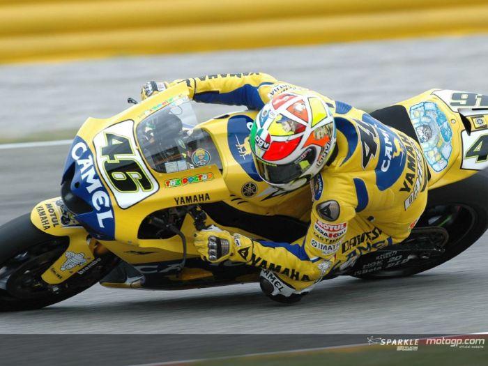 rossi un des meilleur pilotes du motos gp