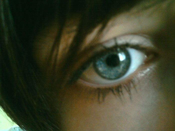 Mes yeux .