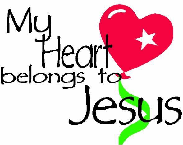 mon ame appartient a Jésus