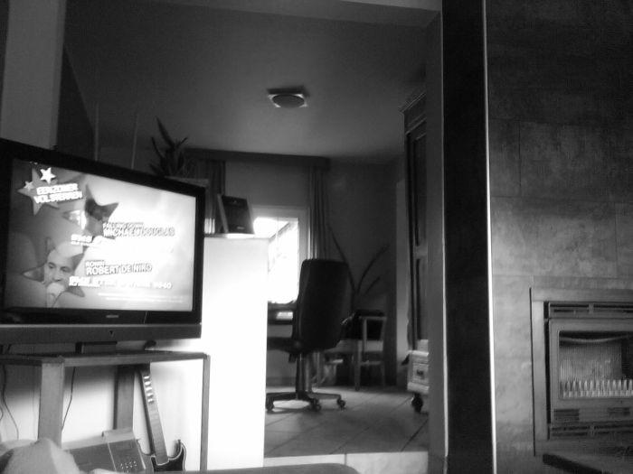 Chilling, watching tv B)