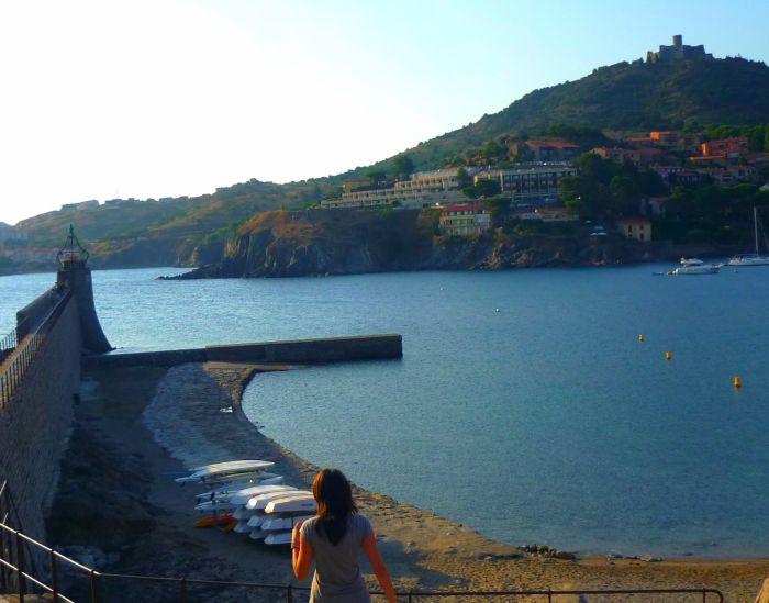 moi à Collioure