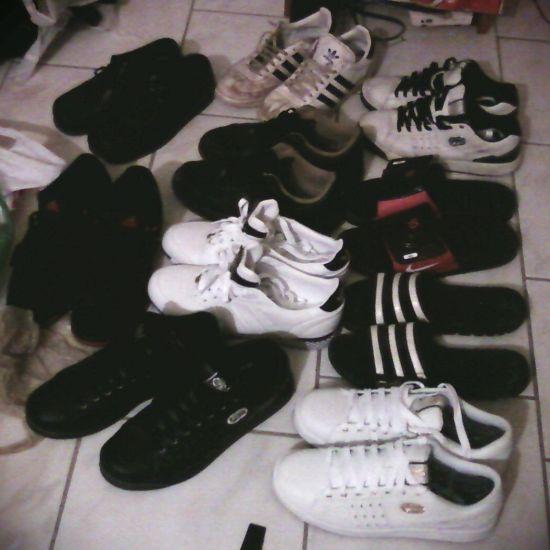 My shoes, tmtc pk. mtn tu va arrété gspr