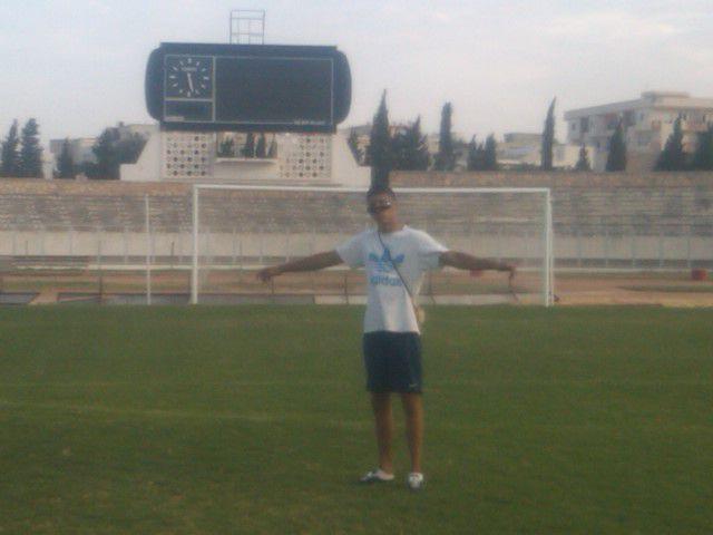 Sur le terrain de l'étoile a Sousse