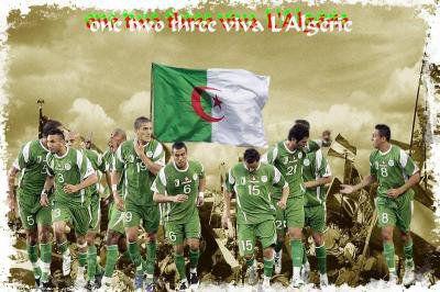 L'équipe nationale algérienne