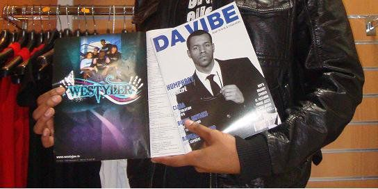 westyler dans Da vibe magazine rap,r&b, hip hop ,fashion