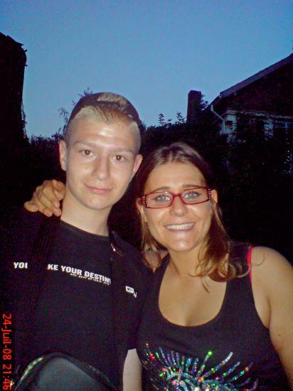 moi et mon neveu (son sky c k-evo) je t'adore