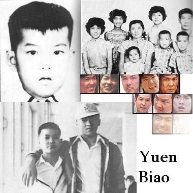 Yuen Biao family
