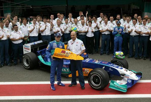 Fin 2004 lors du départ de Fisichella chez Renault.