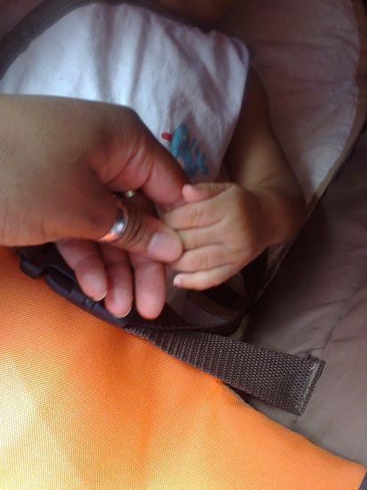 My Baby'S Hand...