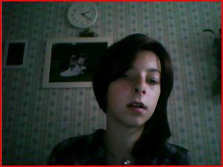 moi avec ma nouvelle coiffure