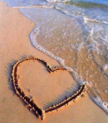 le coeur sur l'eau