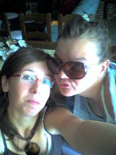 Mélanie &é Nolwenn.