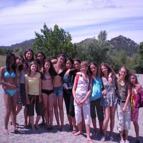 Nous toutes au lac <3
