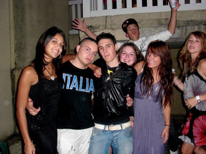 Sabrina, Damien, Joey, Axel, Amaury, Sigrid (lL) 19.o9.o9