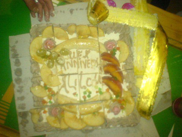 bah c ma tarte de mn anèversaire 2009