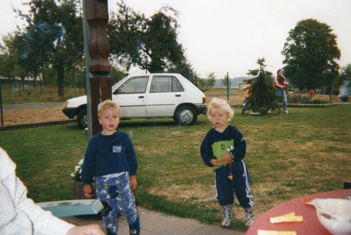 Aurélien &é moi ; J'ai grandi avec lui !