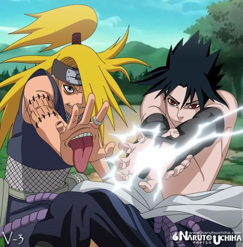 Deidara et Sasuke