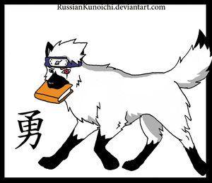 Kakashi en loup