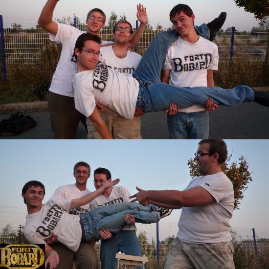 Les candidats, les vrais héros de Fort Bobard II !